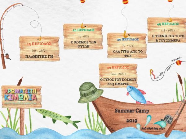 Summer Camp 19 Programme